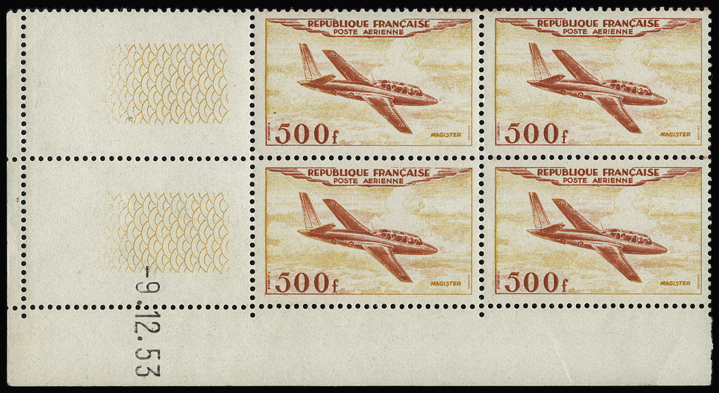 Lot 1943 - France poste aerienne -  Le Timbre Classique SA SALE ON OFFERS N ° 36 PARIS
