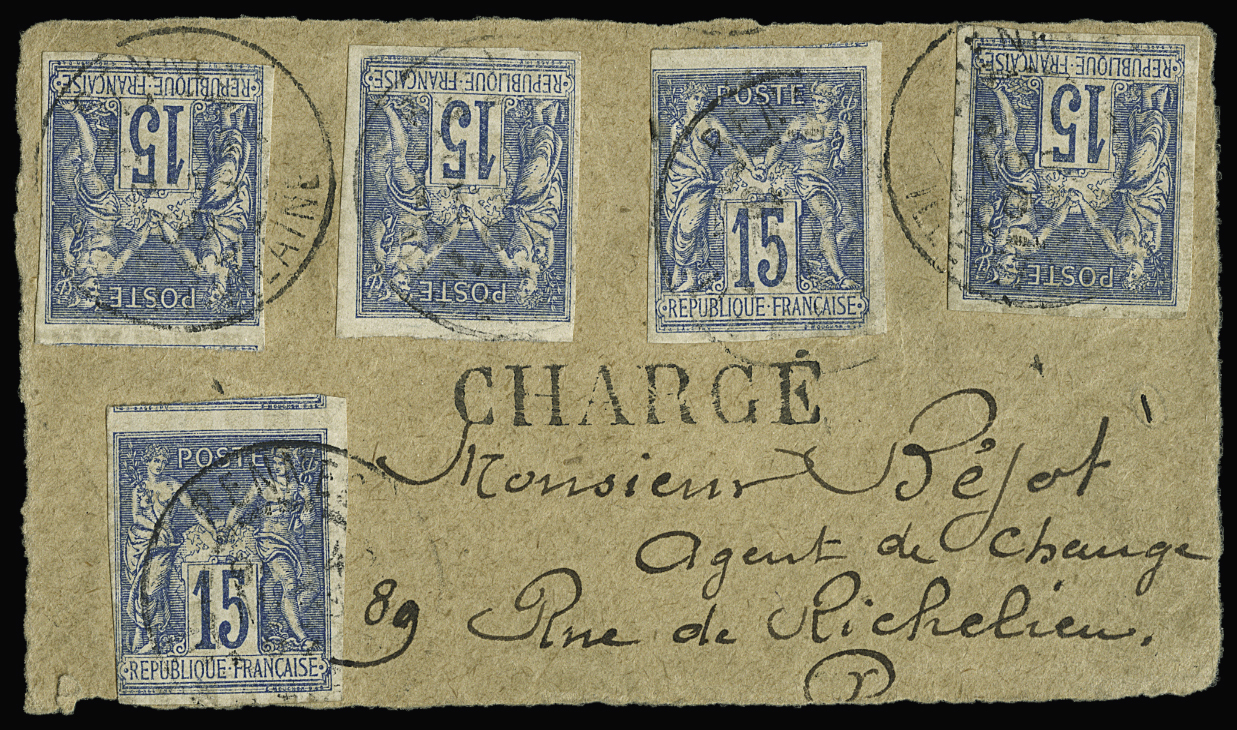 Lot 591 - France type sage -  Le Timbre Classique SA SALE ON OFFERS N ° 36 PARIS