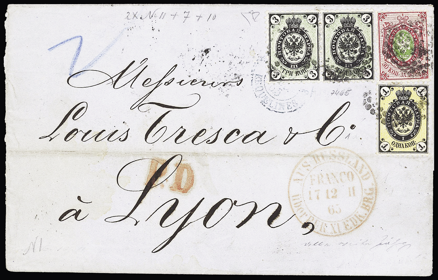 Lot 258 - Eastern Europe » Russia and USSR  -  Le Timbre Classique SA SALE ON OFFERS N ° 37 PARIS