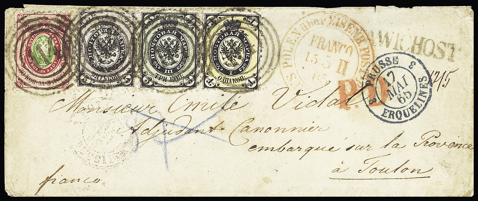 Lot 261 - Eastern Europe » Russia and USSR  -  Le Timbre Classique SA SALE ON OFFERS N ° 37 PARIS