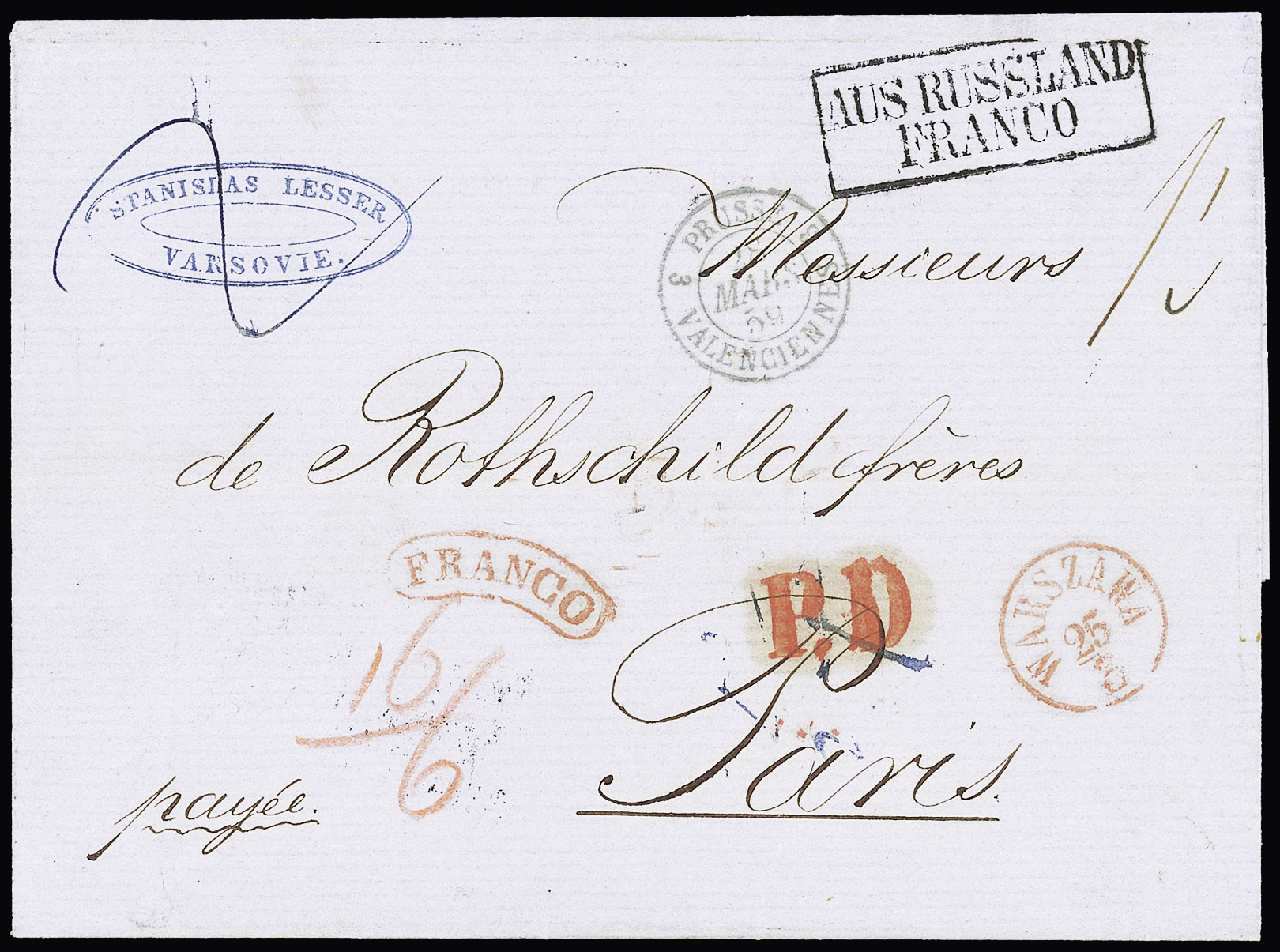 Lot 253 - Eastern Europe » Russia and USSR  -  Le Timbre Classique SA SALE ON OFFERS N ° 37 PARIS