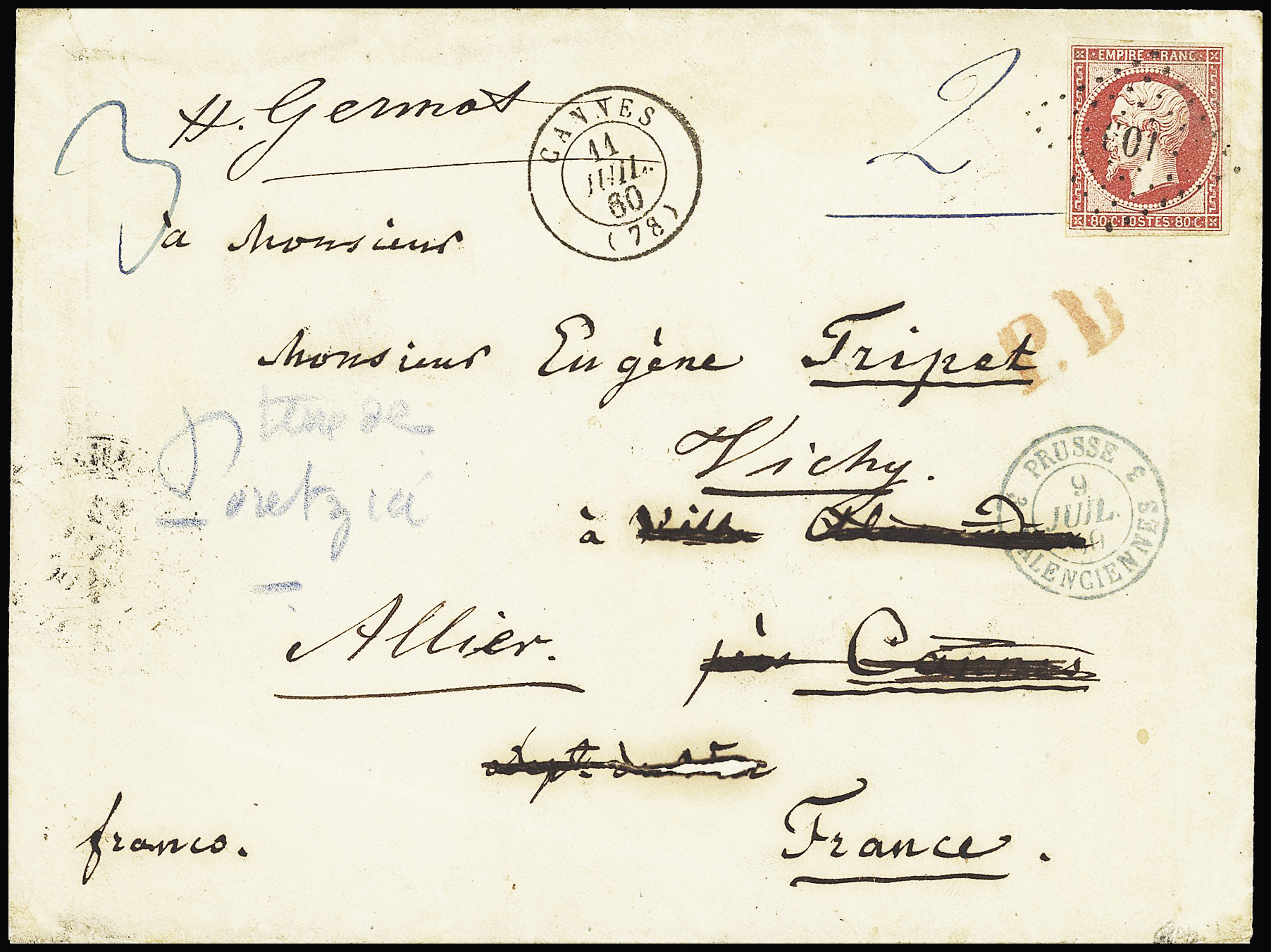 Lot 254 - Eastern Europe » Russia and USSR  -  Le Timbre Classique SA SALE ON OFFERS N ° 37 PARIS