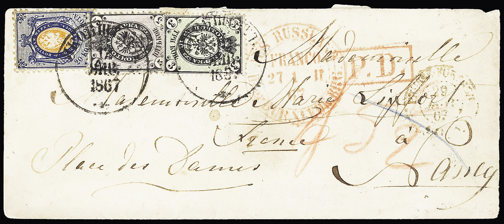 Lot 277 - Eastern Europe » Russia and USSR  -  Le Timbre Classique SA SALE ON OFFERS N ° 37 PARIS