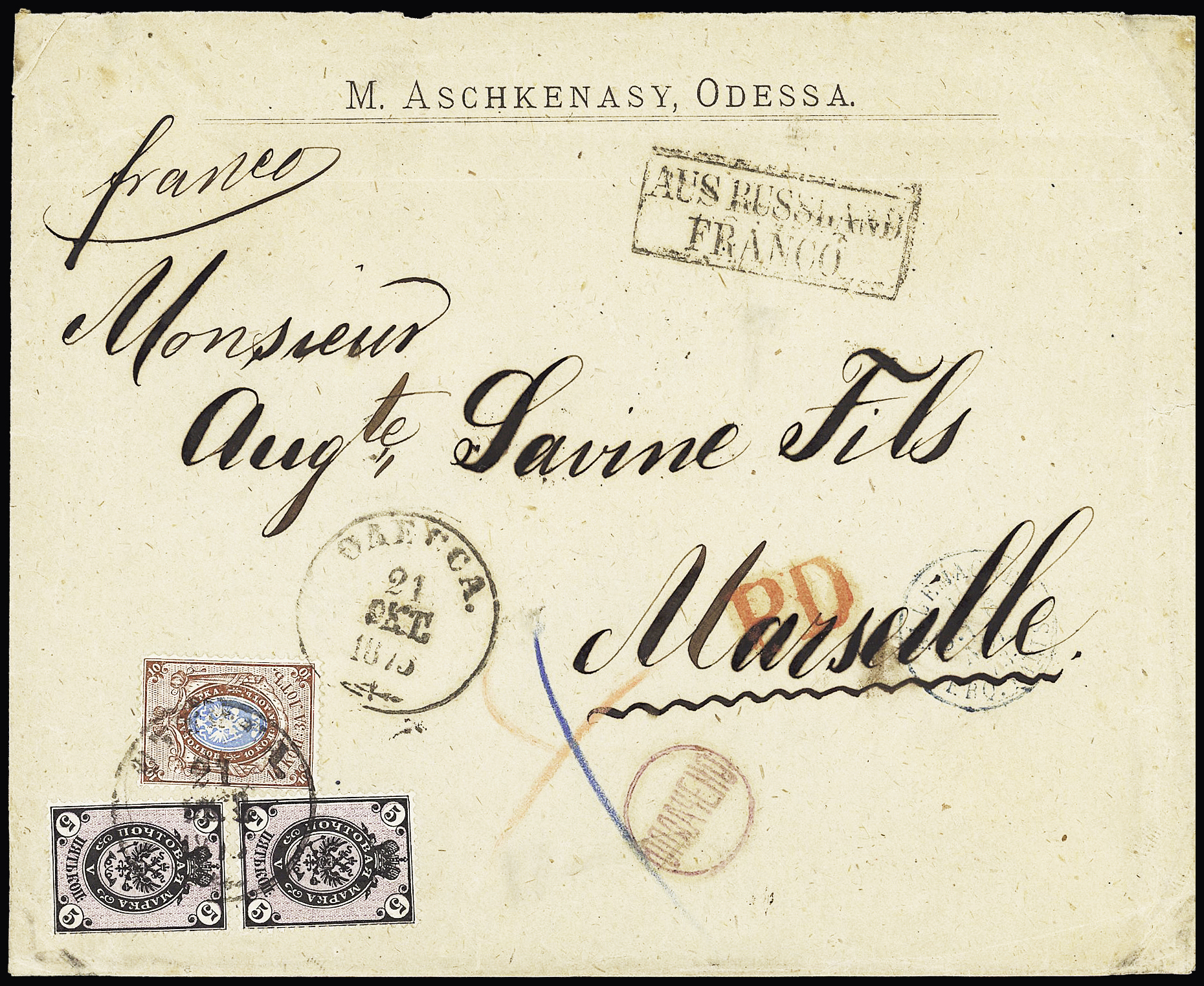 Lot 346 - Eastern Europe » Russia and USSR  -  Le Timbre Classique SA SALE ON OFFERS N ° 37 PARIS