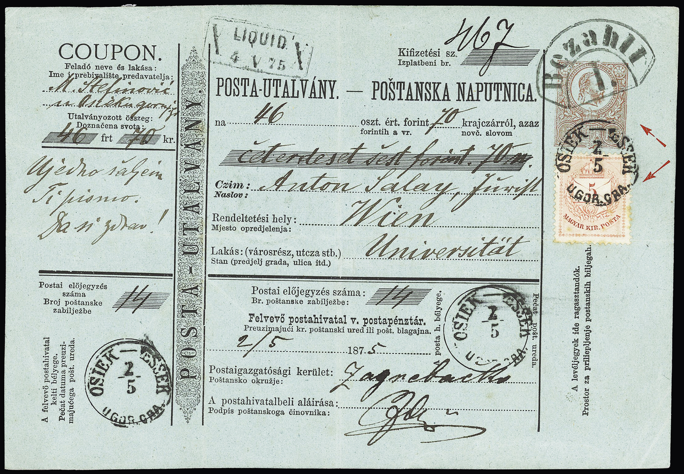 Lot 619 - Eastern Europe » Hungary  -  Le Timbre Classique SA SALE ON OFFERS N ° 37 PARIS