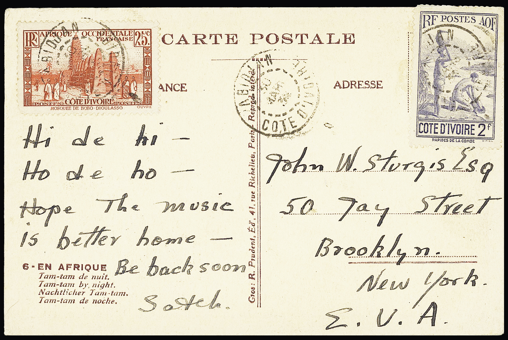 Lot 859 - Overseas » United States of America  -  Le Timbre Classique SA SALE ON OFFERS N ° 37 PARIS