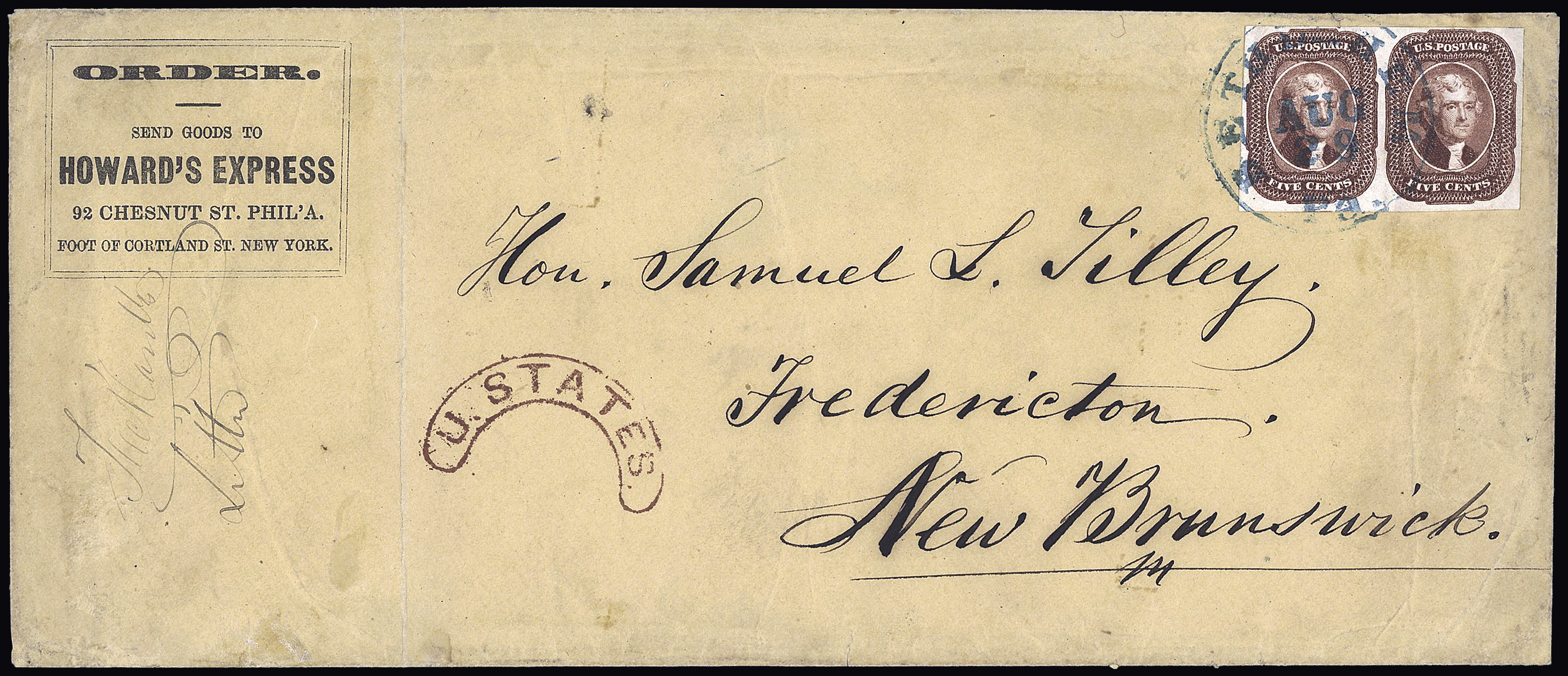 Lot 845 - Overseas » United States of America  -  Le Timbre Classique SA SALE ON OFFERS N ° 37 PARIS