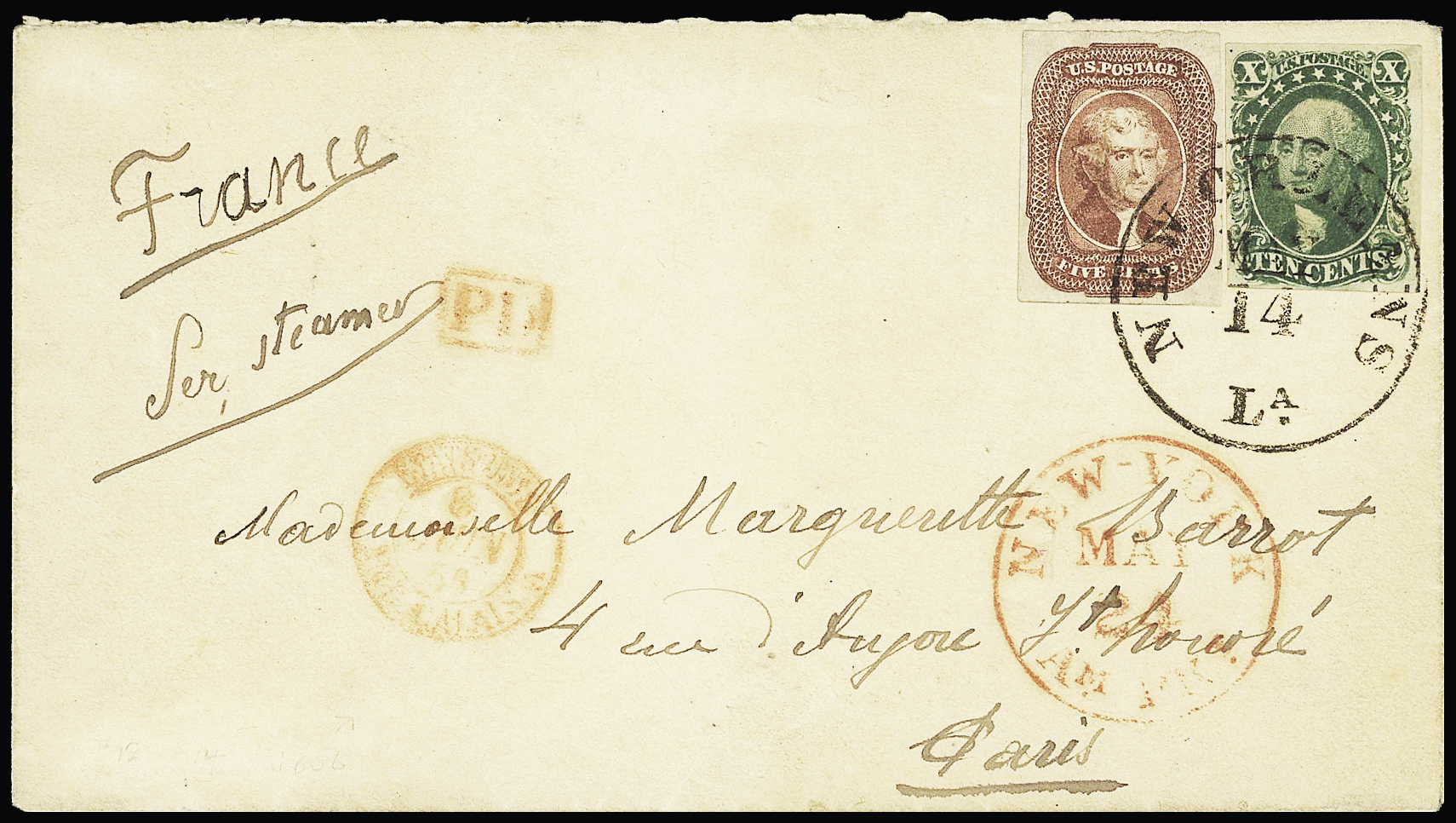 Lot 850 - Overseas » United States of America  -  Le Timbre Classique SA SALE ON OFFERS N ° 37 PARIS