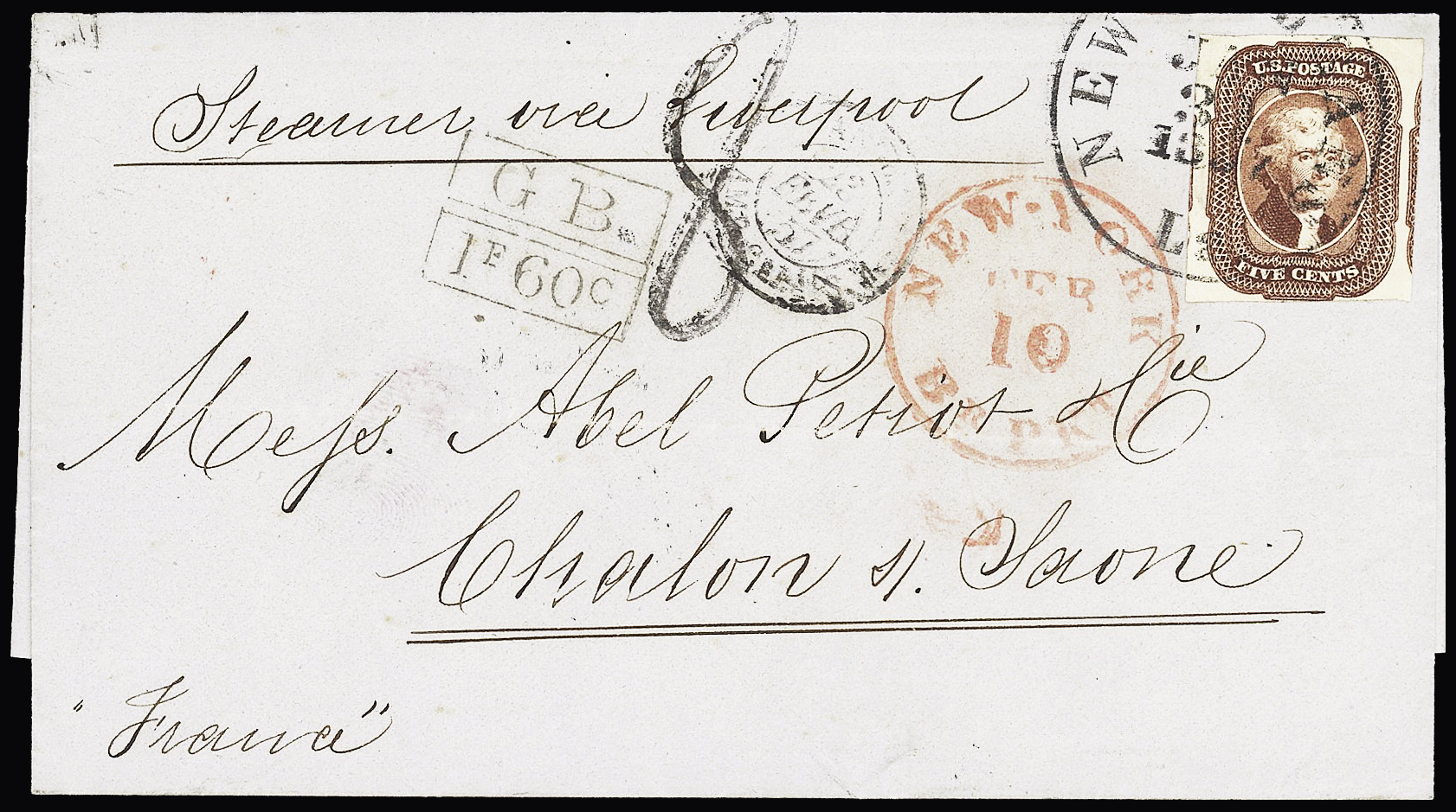 Lot 849 - Overseas » United States of America  -  Le Timbre Classique SA SALE ON OFFERS N ° 37 PARIS