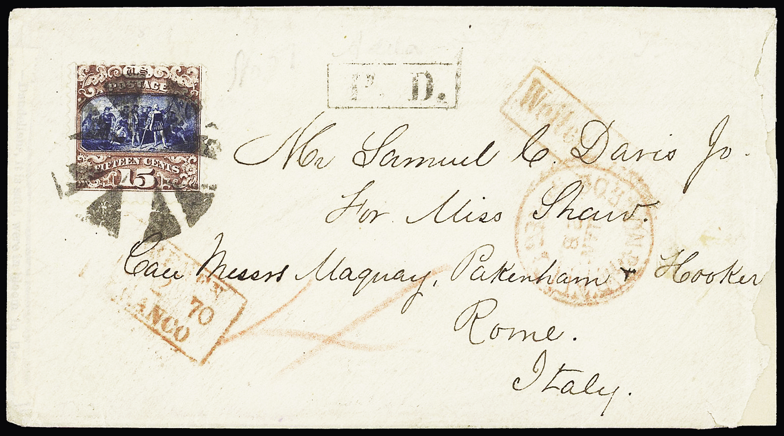 Lot 856 - Overseas » United States of America  -  Le Timbre Classique SA SALE ON OFFERS N ° 37 PARIS