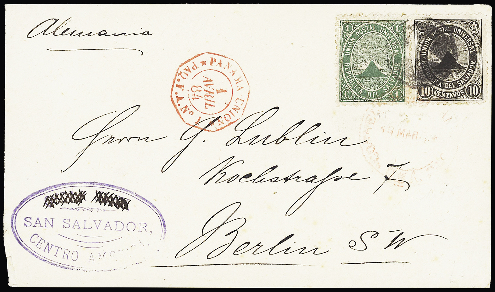 Lot 787 - Overseas » El Salvador  -  Le Timbre Classique SA SALE ON OFFERS N ° 37 PARIS