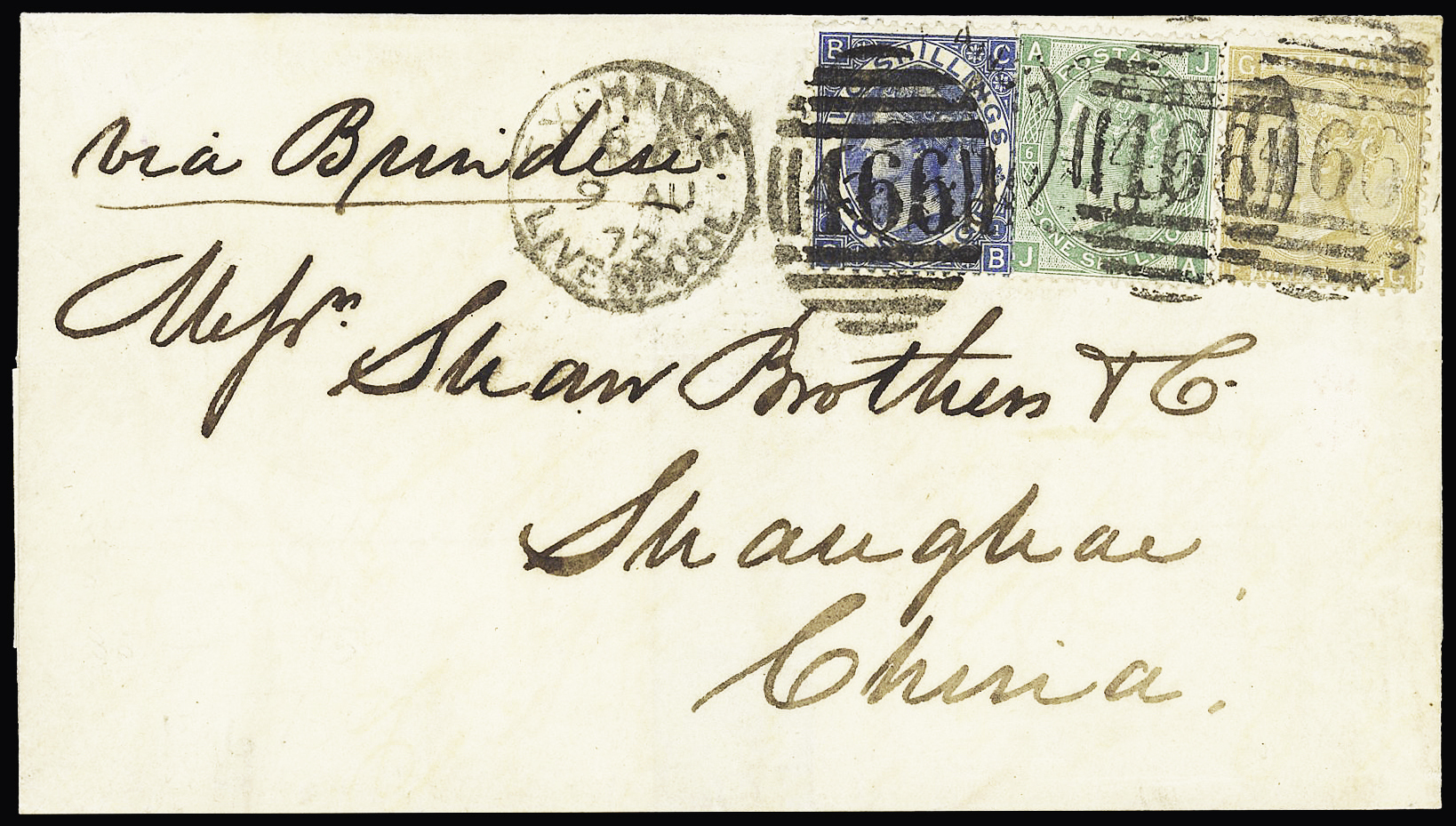 Lot 216 - Western Europe » Great Britain  -  Le Timbre Classique SA SALE ON OFFERS N ° 37 PARIS