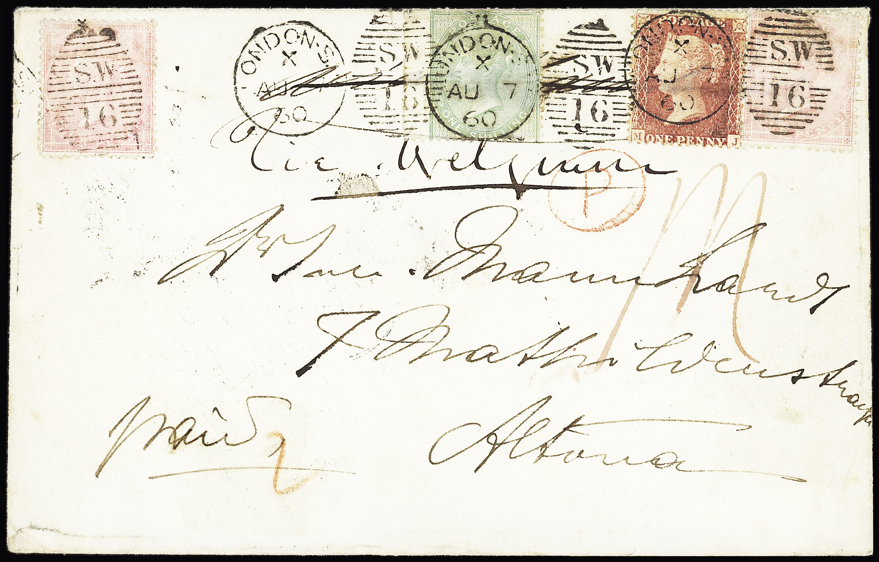Lot 227 - Western Europe » Great Britain  -  Le Timbre Classique SA SALE ON OFFERS N ° 37 PARIS