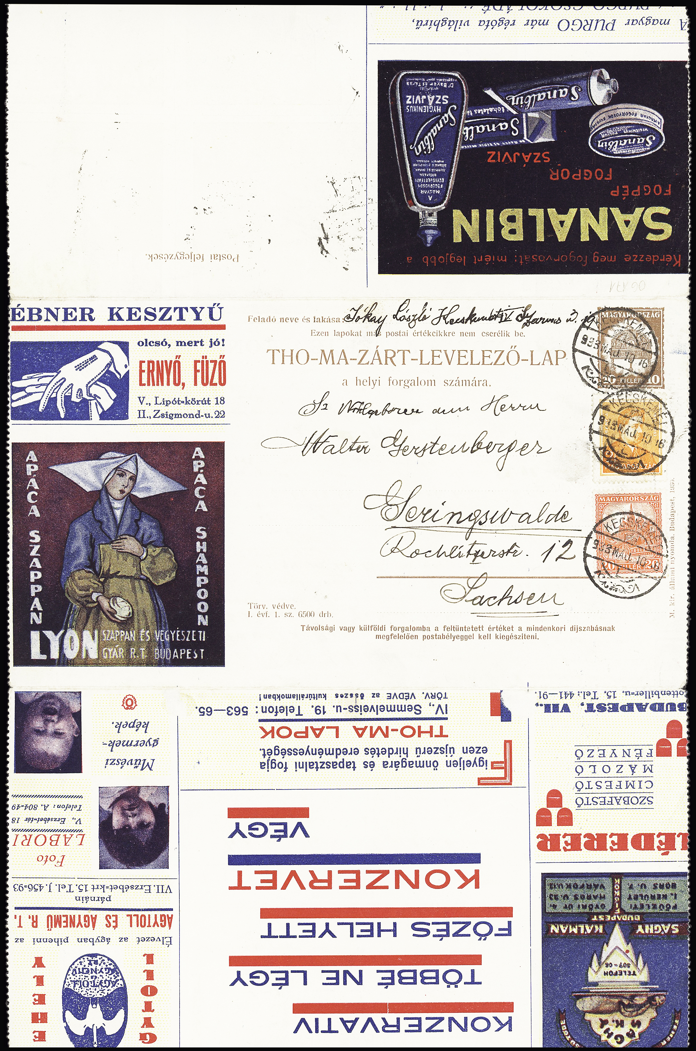Lot 621 - Eastern Europe » Hungary  -  Le Timbre Classique SA SALE ON OFFERS N ° 37 PARIS